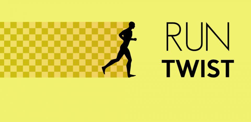 Run Twist Banner